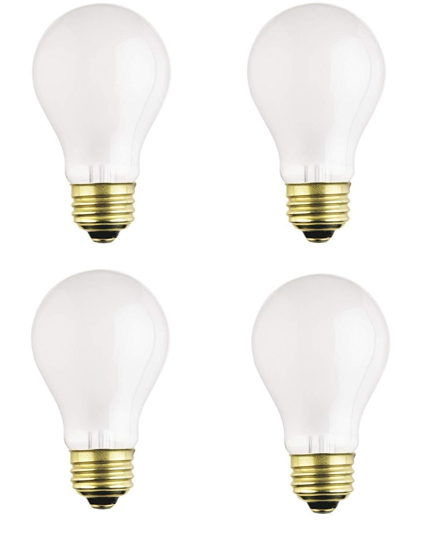 Dysmio Lighting 100 Watt A19 Rough Service Incandescent Light Bulb Pack of 4 by DYSMIO (Image #1)
