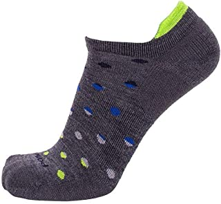 product image for Point6 Active Life Dot Fade Extra Light Micro Socks Gray L