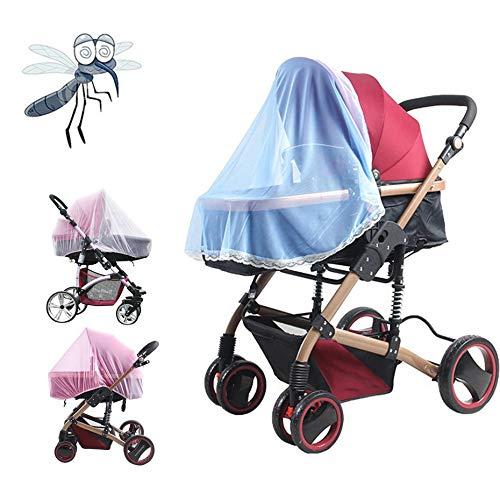bianco 1 Pz Hot Full Outdoor Baby Infant Passeggino Passeggino Zanzara Insetto Net Mesh Buggy Cover Baby Zanzariera
