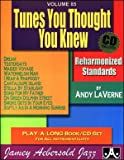 Tunes You Thought You Knew (Jamey Aebersold Jazz Volume 85) With Audio CD
