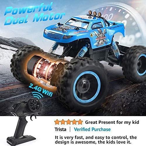 12 Scale RC Truck 2.4Ghz Radio Remote Control Car 4WD Off Road for Boys NQD Remote Control Truck RC Car 1