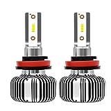 F40B 2X H1 LED Faro Bombillas Alquiler De Luces LED 25-30W 3200Lm LED Lámpara con La Viruta del CSP para El Coche Vehículo,H11
