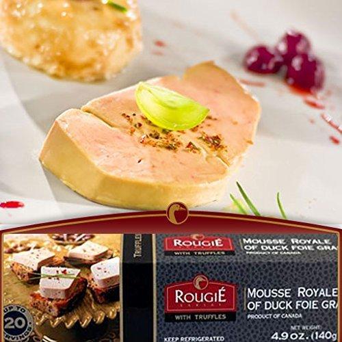 Mousse Royal of Duck Foie Gras w/ Truffles, 4.9oz. Rougie