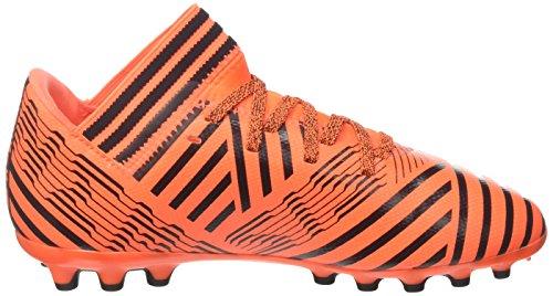 adidas Jungen Nemeziz 17.3 AG J Fußballschuhe Mehrfarbig (Solar Orange/core Black/core Black)