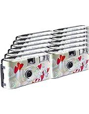 TopShot Flying Hearts Wegwerp Camera/Bruiloft Camera (27 foto's, Flash, 12 stuks)