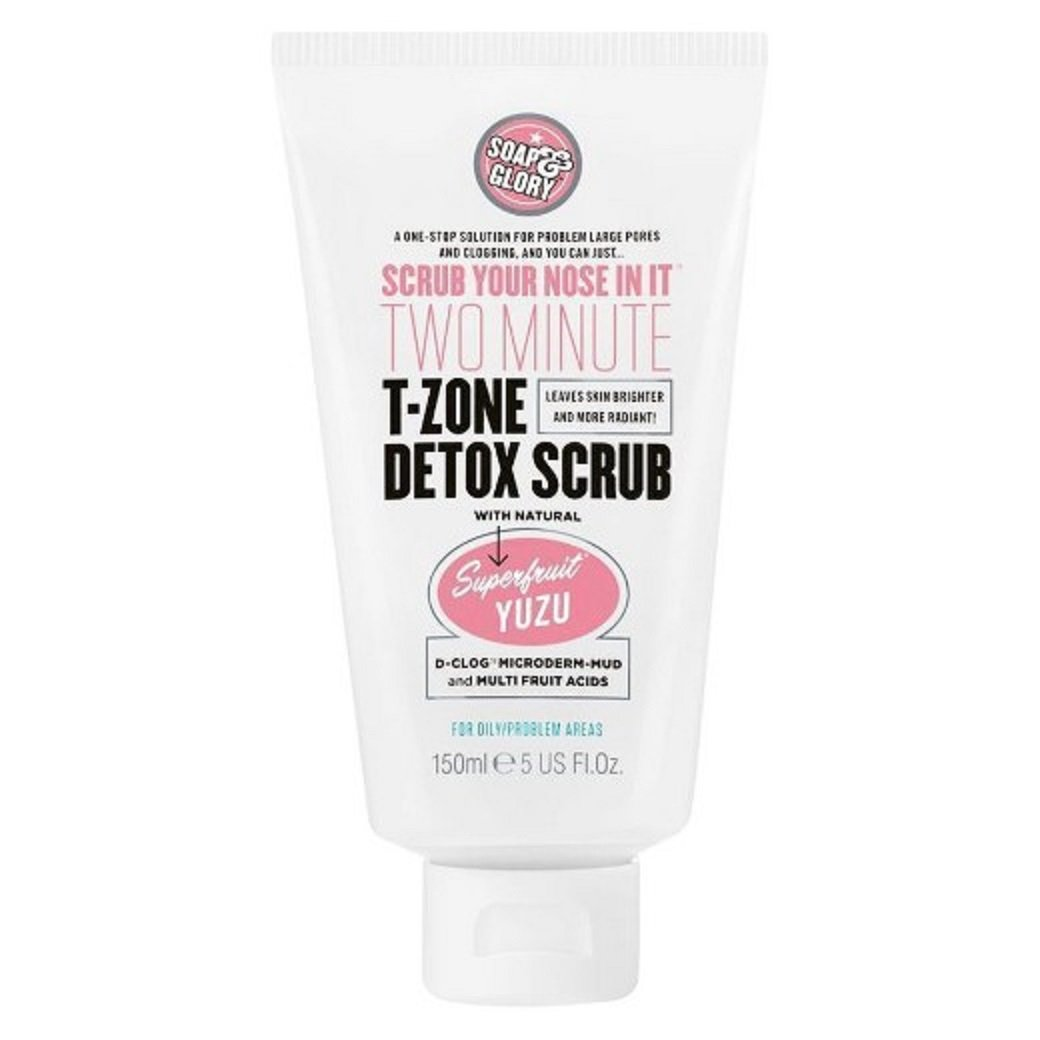 Soap and Glory Scrub Your Nose In It Facial Scrub Pore Refining Formula 150 Milliliter