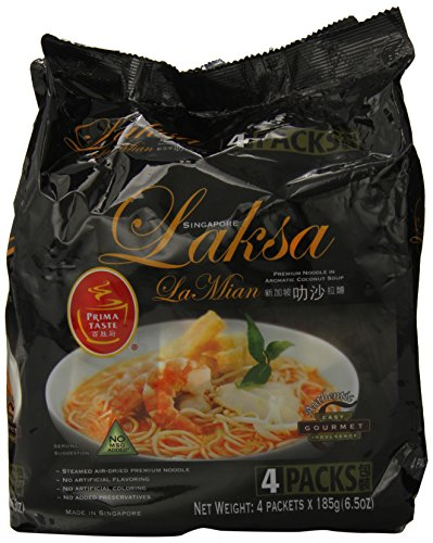 (Prima Taste Laksa Coconut Curry Lamian Noodles, 26 Ounce)