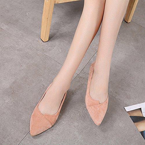 Fashion Sandals Womens Bocca Pointed Superficiale Scarpe Summer LJO B Heel Flat qRwBZS7