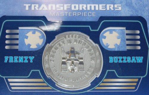 Transformers Masterpiece Frenzy & Buzzsaw Coin
