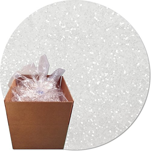 Glitter My World! Craft Glitter: 25lb Box: Crystal Clear by Glitter My World!
