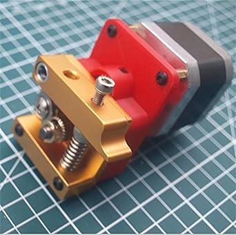 WillBest - 1 motor planetario compacto NEMA17 con extrusor MK8 ...