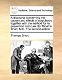 A Discourse Concerning the Causes and Effects of Corpulency, Thomas Short, 1170431992
