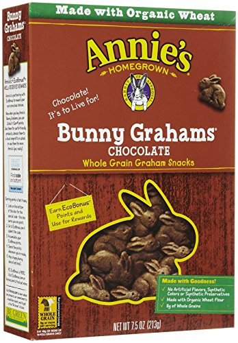 Annie's Homegrown Chocolate Bunny Grahams, 7.5 oz by Annie's Homegrown