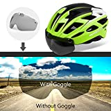 Basecamp-Bike-Helmet-Cycling-Helmet-CPSC-Safety-Standard-Adjustable-BicycleClimbing-Helmet-with-Magnetic-VisorLED-Safety-Back-Light-for-Adult-Youth-MenWomen-MountainRoad