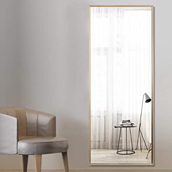 Amazon Com Rifrani Full Length Mirror Standing Hanging Or Leaning