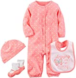 Carter's Baby Girls' Multi-Pc Sets 126g627, Bright Pink, 9 Months Reviews