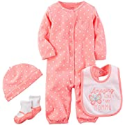 Carter's Baby Girls' Multi-Pc Sets 126g627, Bright Pink, 9 Months