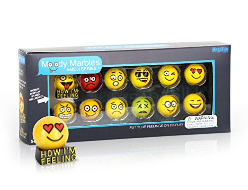 MegaFun USA Moody Marble Emoji Gift Set - Series - Usa Shooter The