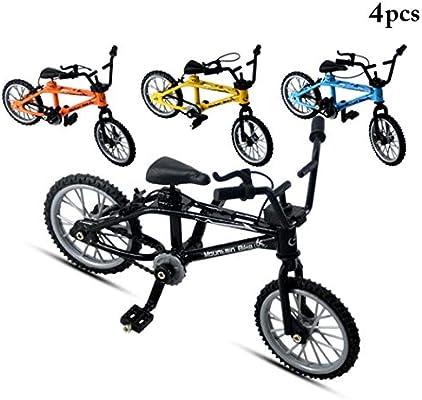 Joyibay 4 Piezas Niños Modelo De Bicicleta De Carreras 1: 18 Mini ...