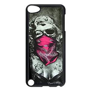 Zombie Marilyn Monroe Cool pictures PC Hard Plastic phone Case Cover FOR Ipod Touch 5 JWH9135512