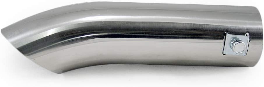 Boloromo 8669 Universal Sport Auto Auspuffblende Auspuff Endrohr Stahl Edelstahl 46mm /Ø Chrom