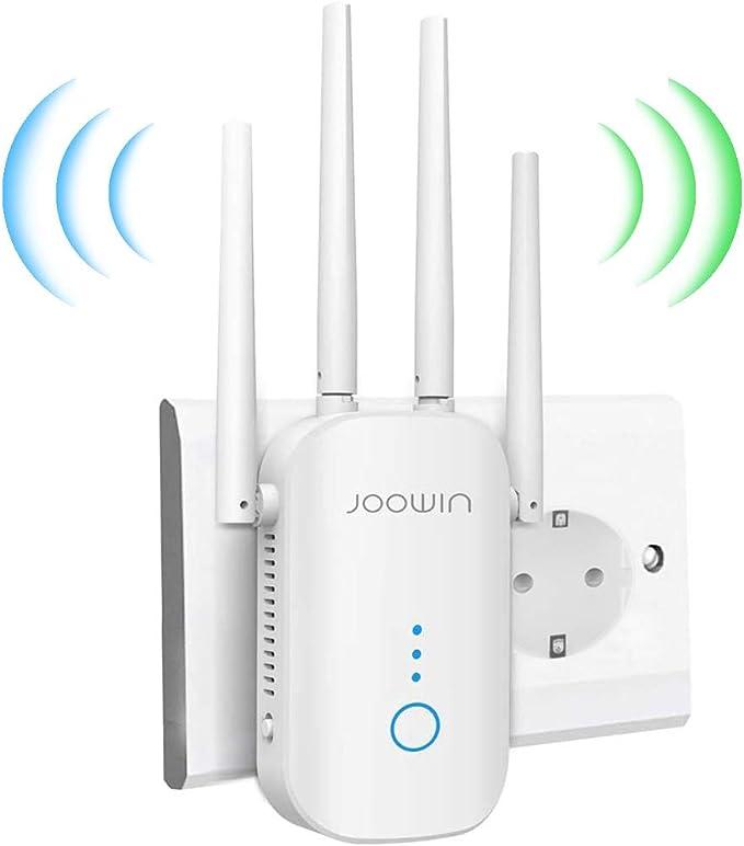 JOOWIN Repetidor WiFi 1200Mbps Amplificador Señal WiFi ...