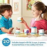 Melissa & Doug Wooden Steep & Serve Tea Set