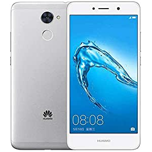 Huawei Y7 (TRT-LX3) 2GB / 16GB 5.5-inches Dual SIM Factory Unlocked - International Version - No Warranty (Silver)