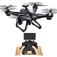 Clearance ! 6 Axis Gyro- Vanvler  GPS HD Camera Drone Helicopter  X183 With 2MP WiFi Quadcopter (black)