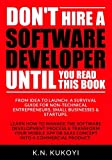Dont hire a software developer until you read this book