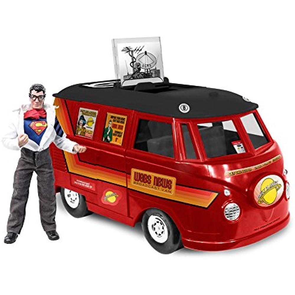 DC COMICS Bus Playset pour rétro MEGO 8 in environ 20.32 cm figures; GCPD prisonnier transport