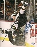 Adam McQuaid Boston Bruins signed air born 8x10