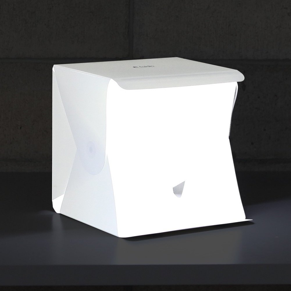 ORANGEMONKIE [Foldio1] Portable mini photo studio 10 inch photo shooting tent lighting box