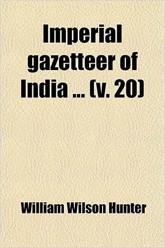 Book Imperial Gazetteer of India (Volume 20)