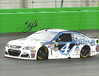 AUTOGRAPHED 2016 Kevin Harvick #4 Busch Light Racing KENTUCKY SPEEDWAY (On-Track Car) Sprint Cup Series Signed Collectible Picture NASCAR 9X11 Inch Glossy Photo with COA