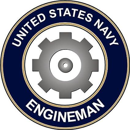 amazon com us navy engineman 8 decal automotive