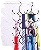 Life Star 10 Circle Magic Scarf Frame Hangers for Scarf Belt Tie Underwear (Bronze)