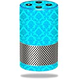 MightySkins Skin for Amazon Echo (2nd Generation) - Blue Vintage Protective, Durable, and Unique Vinyl Decal wrap cover | Easy To Apply, Remove, and Change Styles | Made in the USA