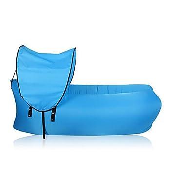 BUSL Colchón Inflable Colchones de Aire Para Vestir Sencilla 30 Inflado70 Senderismo Camping Playa Viaje Impermeable Resistente a la lluvia . blue: ...
