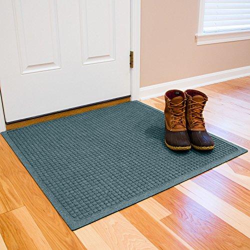 Cheap  Hudson Exchange Waterhog Fashion Polypropylene Fiber Entrance Indoor/Outdoor Floor Mat, 35