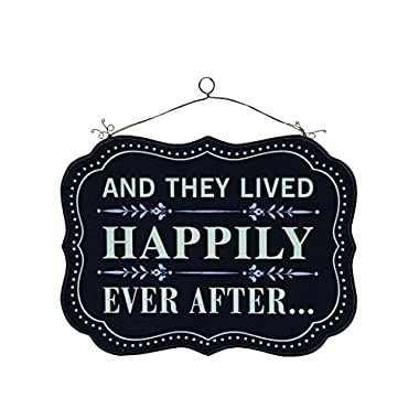 Creative And They Lived Happily Ever After Wood Wall Decor