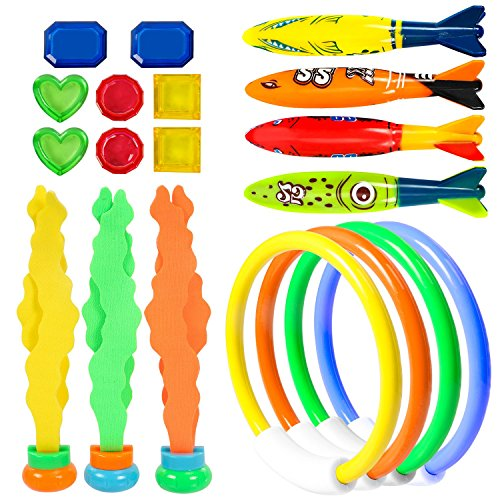 UNEEDE Diving Toy Swimming Pool Toy Underwater Fun