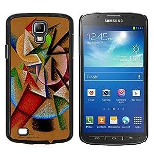 Smartphone duro PC Carcasa protectora Funda para Samsung Galaxy S4Active i9295/Phone Case TECELL Store/color mix