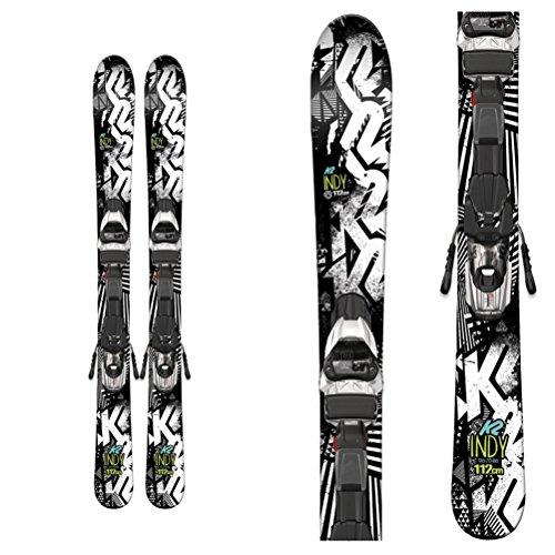 [K2 Indy 112 Fastrak2 4.5 System Skis Boys' 112] (All Mountain Snow Skis)