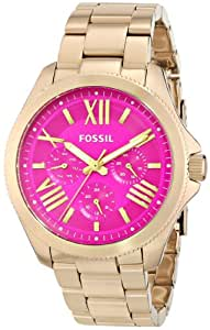 Fossil Women's AM4539 Cecile Gold-Tone Stainless Steel Watch
