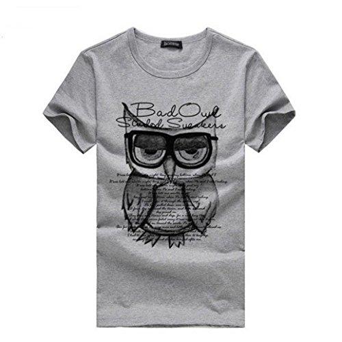 PHOTNO Fashion Printing Sleeve Clothes