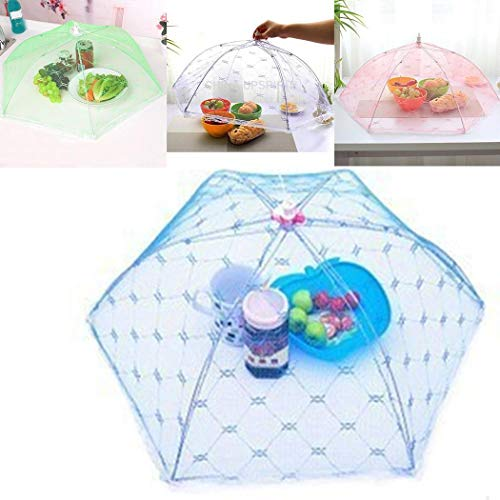 Zippem Umbrella Style Food Anti Fly Mosquito Meal Cover Home Kitchen Tools Plate Serving Covers