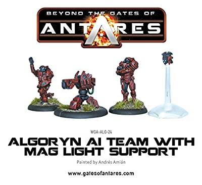 Beyond The Gates Of Antares, Algoryn AI Team with Mag Light Support from Warlord Games