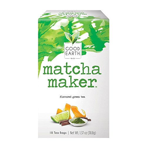 (Good Earth Green Tea, Matcha Maker, 18 Count Tea Bags (Pack of 6) (Packaging May)
