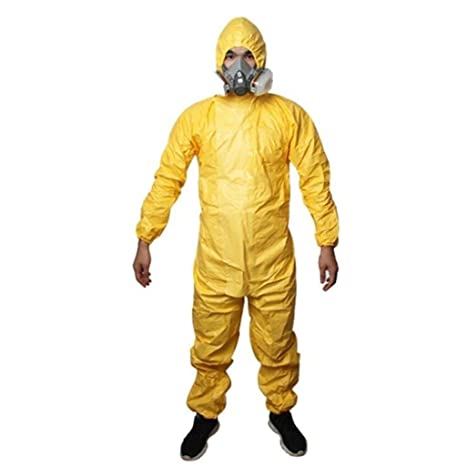 XUDONG Ropa de protección química del Reino Unido Trajes de ...